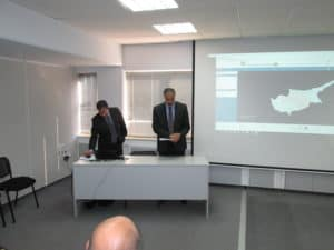 Presentation of the dls portal at the Paphos Chamber